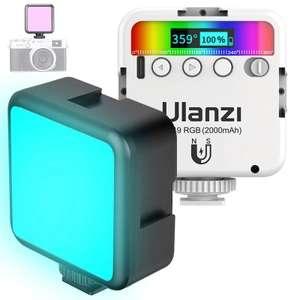 [Nouveaux clients] Mini lampe LED RGB Ulanzi pour éclairage Photo (Entrepôt France)