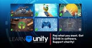 Pack de logiciels Learn Unity Game Development sur PC (Dématérialisé)