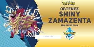 Pokémon Épée et Bouclier : Zacian et Zamazenta chromatique distribués offerts (Dématérialisé)