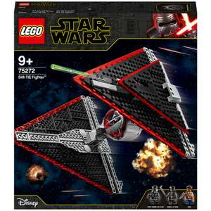 Lego Star Wars - Le chasseur Tie Sith (75272)