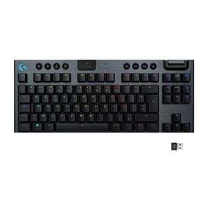 Clavier sans fil Logitech G915 Tenkeyless Lightspeed RGB - Noir