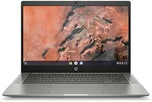 """PC Portable 14"""" HP Chromebook 14b-na0000sf - AMD Ryzen 3, RAM 8 Go, SSD 128 Go (Via ODR 50€)"""