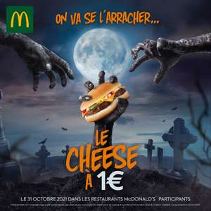 Buerger Cheesburger à 1€ (Colomiers 31)