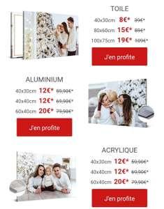 [Abonnés Newsletter] Sélection de toiles en promotion - Ex: Toile 100x75cm