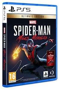 Marvel's Spider-Man: Miles Morales Ultimate Edition sur PS5 (Boîte ES - Anglais/Espagnol)