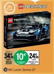 Jeu de construction Lego Technic 42123 - McLaren Senna GTR (via 10€ sur la carte fidélité)