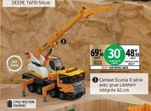 Camion Scania R série avec grue Liebherr intégrée 62 cm (via 20.97€ sur la carte de fidélité)