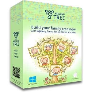 Logiciel Agelong Tree (Arbre Généalogique) gratuit à vie sur PC & Mac (Dématérialisé)