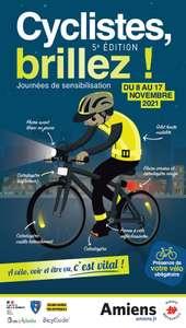 Distribution gratuite de kits de visibilité et marquage Bicycode gratuit - Amiens (80)