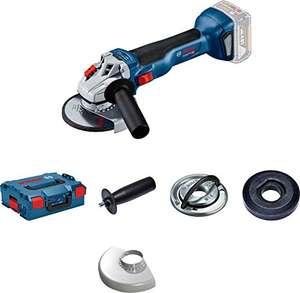Meuleuse d'angle sans-fil Bosch Professional GWS 18V-10 Professional (06019J4003) + L-BOXX + Accessoires (sans batterie, ni chargeur)