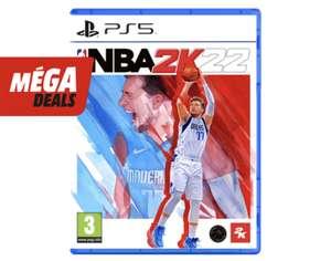 Jeu NBA 2K22 FR/UK sur PS5 et PS4 (Frontaliers Belgique)
