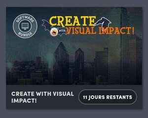 Pack de logiciels graphisme et vidéo Corel Create with Visual impact (Dématérialisé)