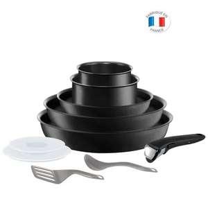 Batterie de cuisine Tefal Ingenio Exception - 10 pièces, tous feux dont induction