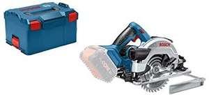 Scie circulaire Bosch Professional 18V GKS 18V-57 G + coffret L-boxx (sans batterie, ni chargeur)