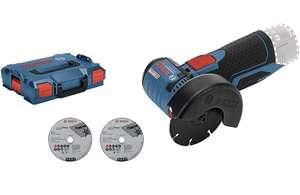 Meuleuse angulaire sans-fil Bosch Professional GWS 12V-76 + coffret L-boxx (sans batterie, ni chargeur)
