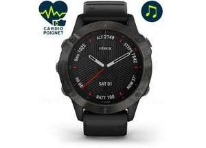 Montre GPS connectée Garmin Fēnix 6 Pro Sapphire