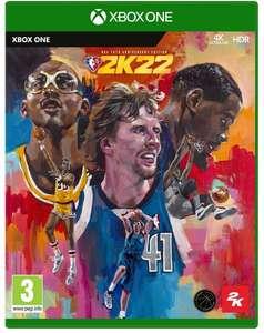 NBA 2K22 - Édition Spéciale 75ème Anniversaire sur Xbox One