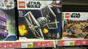 Sélection de Jouets Lego en promotion - Ex : Jeu de construction Lego : Star Wars TIE Fighter impérial (75300) - Capbreton (40)