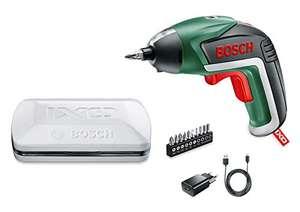 Visseuse sans fil Bosch IXO V Edition Classique (avec chargeur + 10 embouts de vissage + boîte en métal)