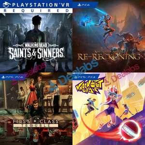 [PS+] The Walking Dead: Saints & Sinners, Kingdoms of Amalur: Re-Reckoning et 4 autres jeux offerts sur PS5/PS4 (Dématérialisés)
