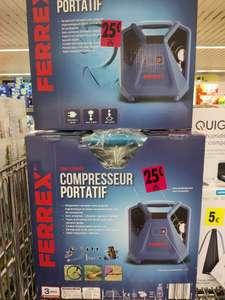 Compresseur portatif Ferrex (180 L/min, avec accessoires) - Vignacourt (80)
