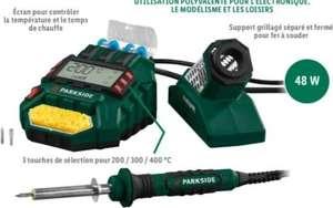 Station de soudage numérique ParkSide - 48 W, avec accessoires