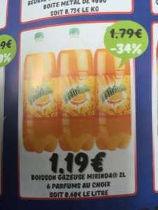 Boisson gaseuze Miranda (6 parfums au choix) - 2L