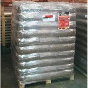 Palette de 70 sacs de granulés de bois (15 kg)