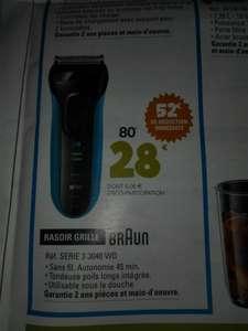 Rasoir électrique Braun serie 3 3040 Wet & Dry