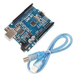 Kit Uno r3 board compatible Arduino - Microcontroleur ATmega328P