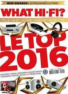 Abonnement d'un an (12 numéros) au magazine What Hi-Fi