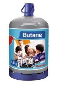 Bouteille de gaz Auchan butane ou propane - 13 kg