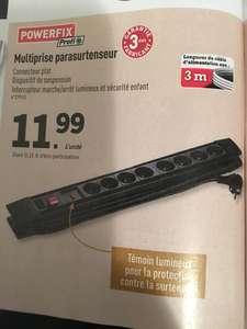 Multiprise Parasurtenseur Powerfix Profi + 8 prises