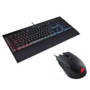 Pack Corsair RGB - clavier K55 + souris Harpoon