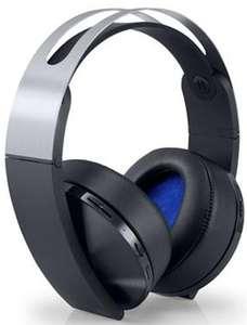 Casque-micro Sans-fil 7.1 Sony Platinum pour PS4 et PlayStation VR - Noir / Argent
