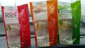 Sachet de nouilles, spaghettis, nouilles ou riz de Konjac Zero - 200 g