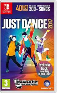 Jeu Just Dance 2017 sur Nintendo Switch