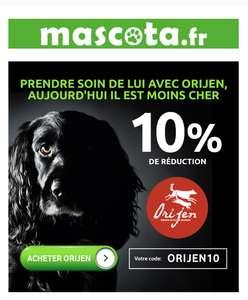 10% de réduction sur les croquettes Orijen