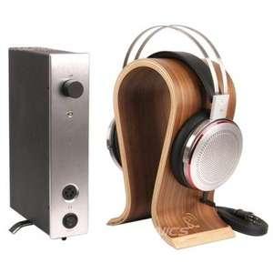 Pack Kingsound : Casque audio électrostatique KS-H3 (Argent) + Amplificateur M-10