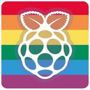 Stickers Raspberry Pride gratuits - frais de port