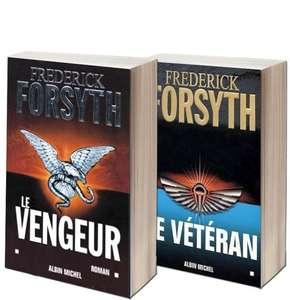 Jusqu'à 70% de réduction sur une sélection de polars et de thrillers - Ex : 2 livres Policiers Frederick Forsyth