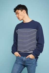 Sweat-shirt Rad Sailor - bleu (du XS au XL), pour femme à 7.5€ et pour homme