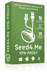 VPN Seed4.Me gratuit pendant 1 an (PC/Mac/iOS/Android)