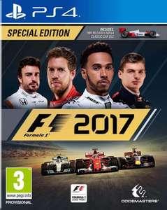 Jeu F1 2017 sur PS4 - Special Edition (Amazon Membres Prime/CDiscount)