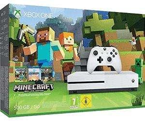 Sélection de packs console Microsoft Xbox One S en promotion - Ex : Xbox One S (500 Go) + Minecraft