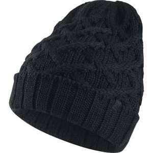 Bonnet Beanie Cable Knit Jordan - Noir
