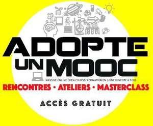 Adopte un Mooc : Ateliers et Formations gratuites
