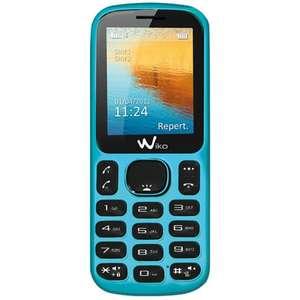 """Téléphone Wiko Lubi - Ecran 1.8"""", Dual SIM, Lecteur MP3"""