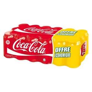 Pack de 18 canettes Coca-Cola 33 cl