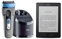 """Kindle 6"""" + Brosse à dents Oral-B Trizone 7000 pour 153.4€ OU + Rasoir Braun CoolTec CT5cc"""